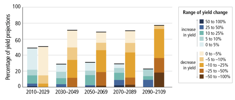 Impact of climate change on agriculture Image 1