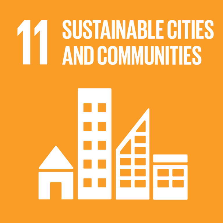 """11th SDG: """"Sustainable cities and communities"""""""