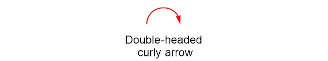 double headed curly arrow