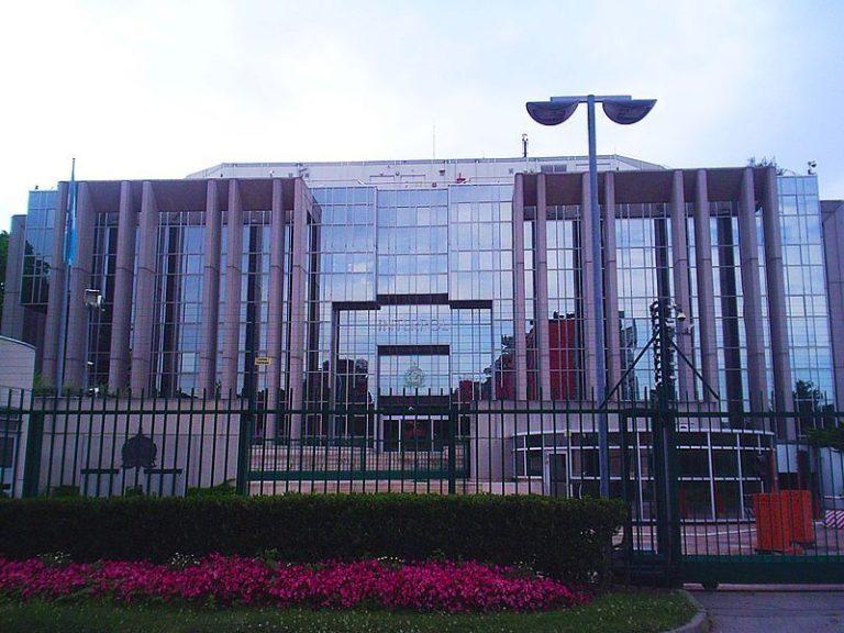 INTERPOL headquarters in Lyon