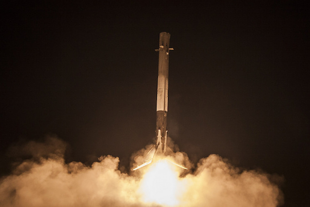 SpaceX made history by landing its Falcon 9 stage-one booster rocket back on earth.