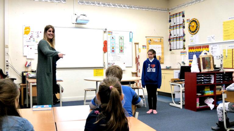 Multilingual classroom