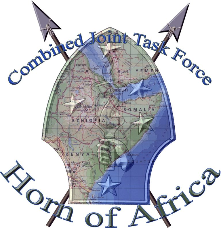 Official logo Combined Joint Task Force-Horn of Africa (CJTF-HOA)