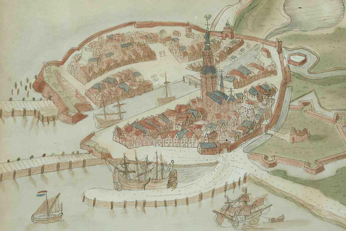 Image of ships at the port of Vlissingen