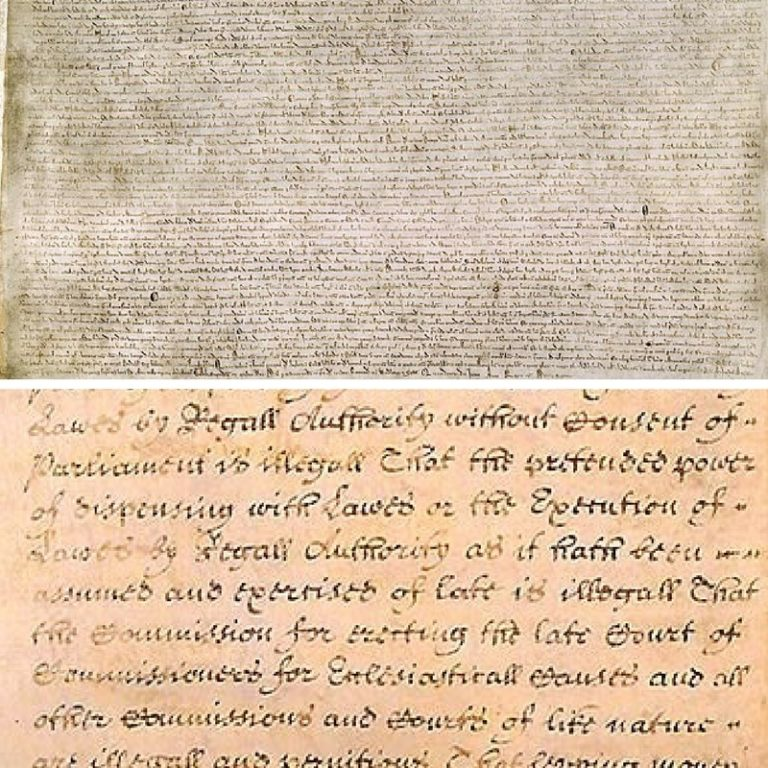 The Magna Carta & the Bill of Rights