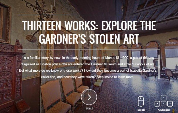 Gardner Museum Tour