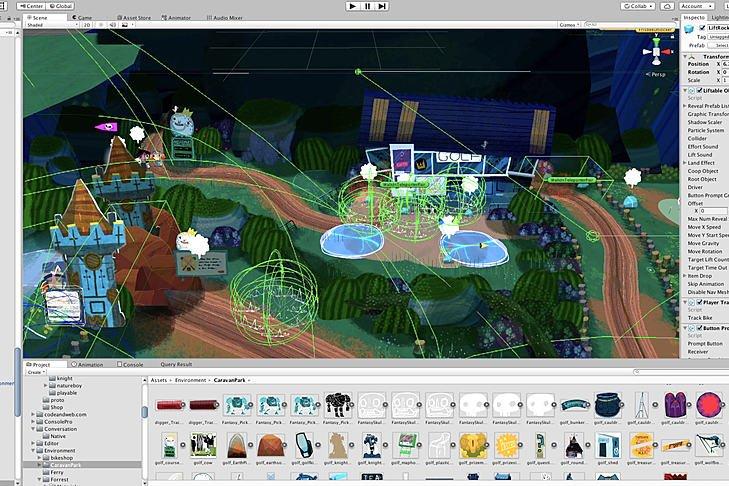 Video game in development