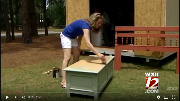 Stay-at-home mom turns furniture hobby into business