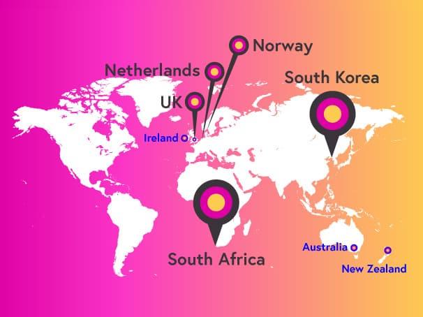 FutureLearn Global reach