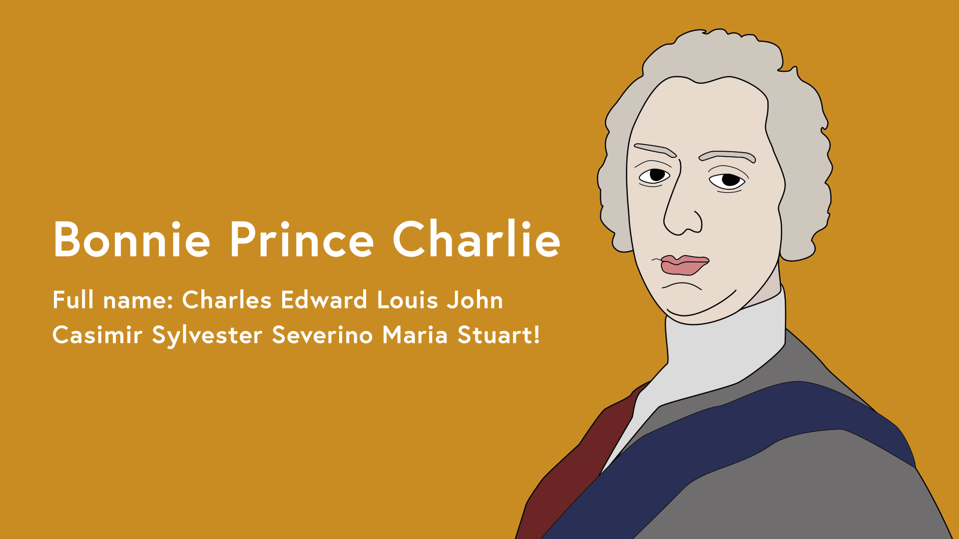 Bonnie Prince Charlie Illustration