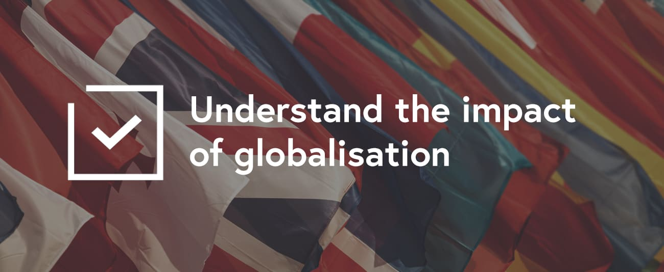 group of flags globalisation FutureLearn