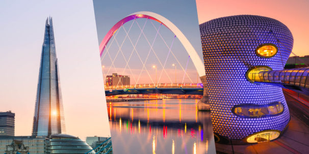 Top UK cities for online learning header