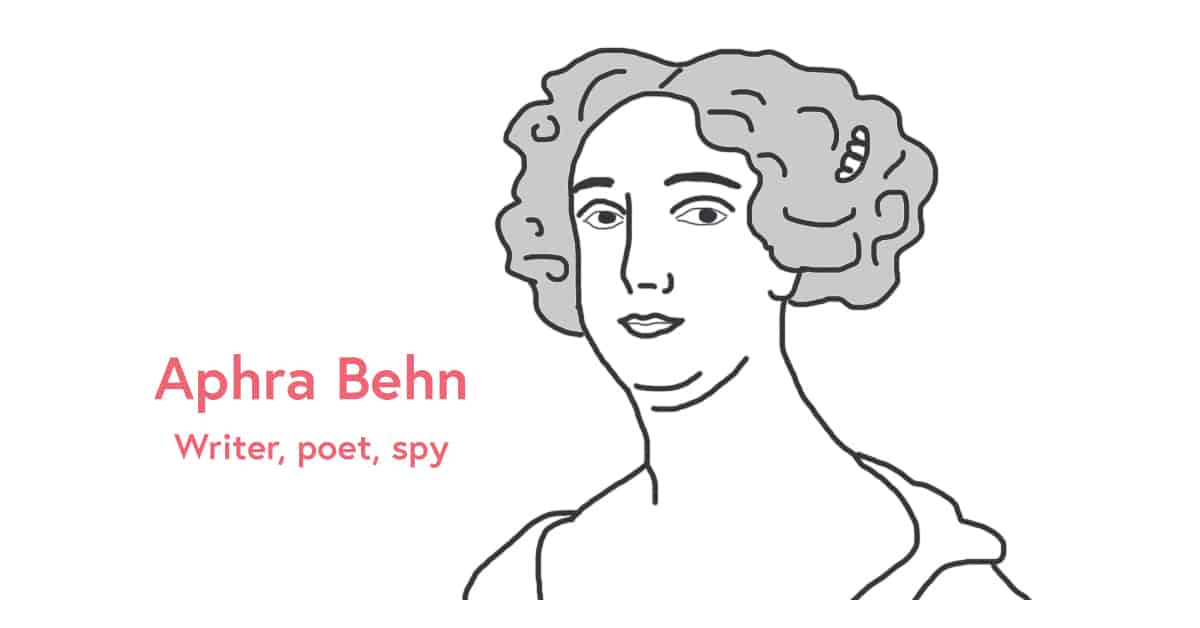 Aphra Behn International Women's Day 2017
