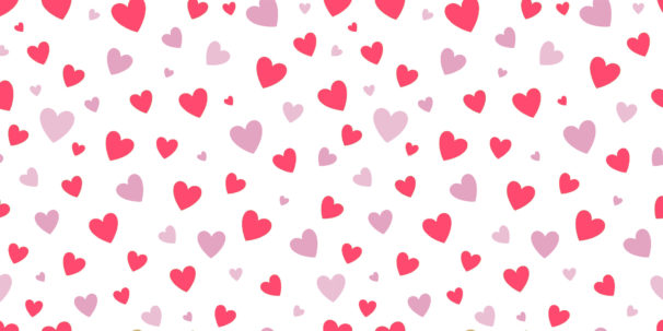 Love heart pattern
