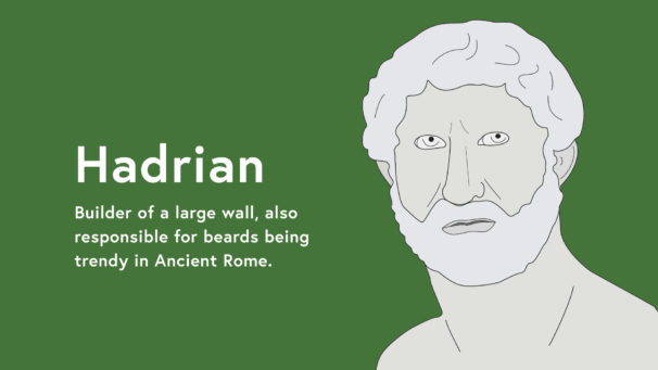 Hadrian Illustration