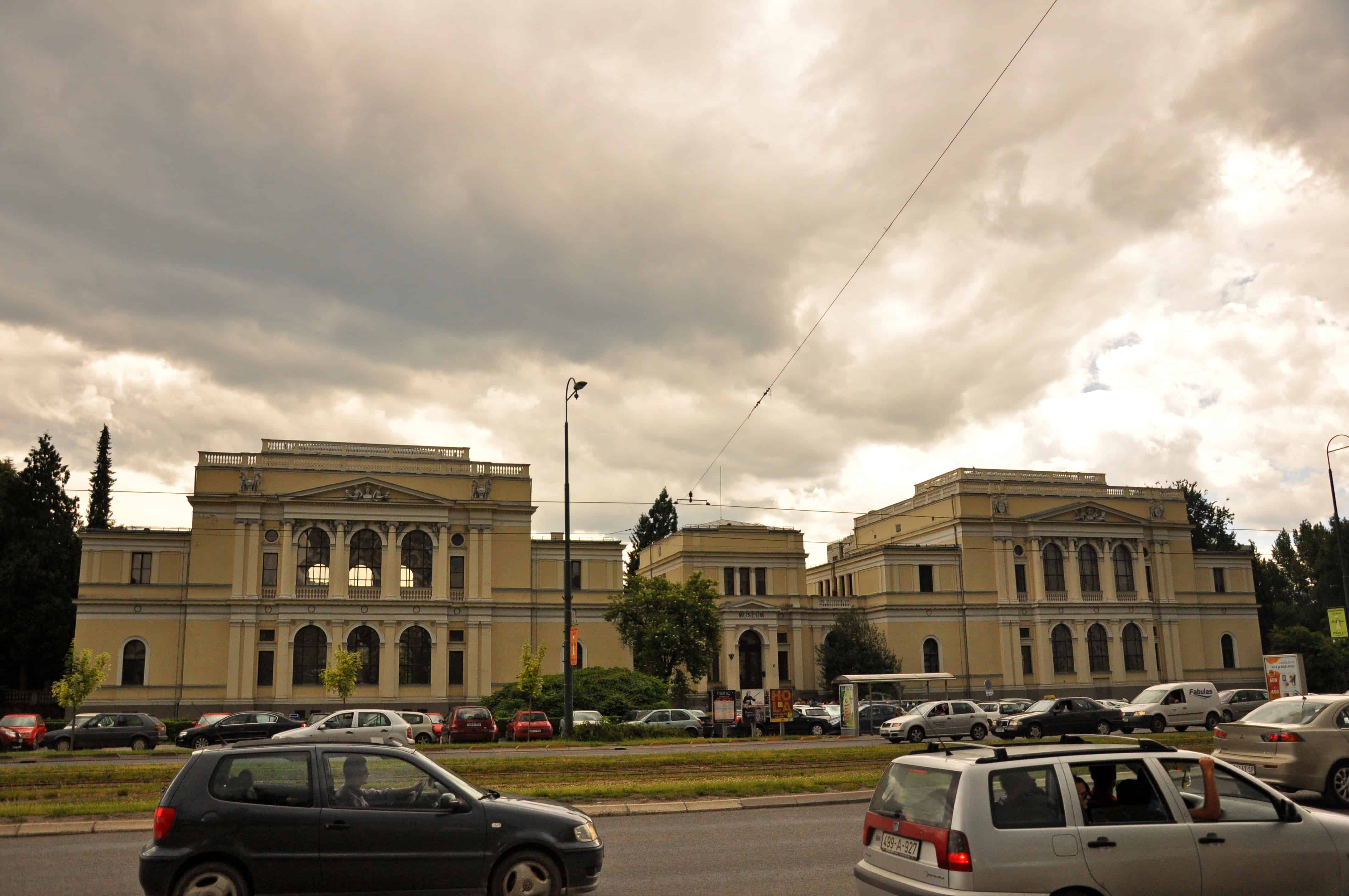 An image of the National Museum of Bosnia