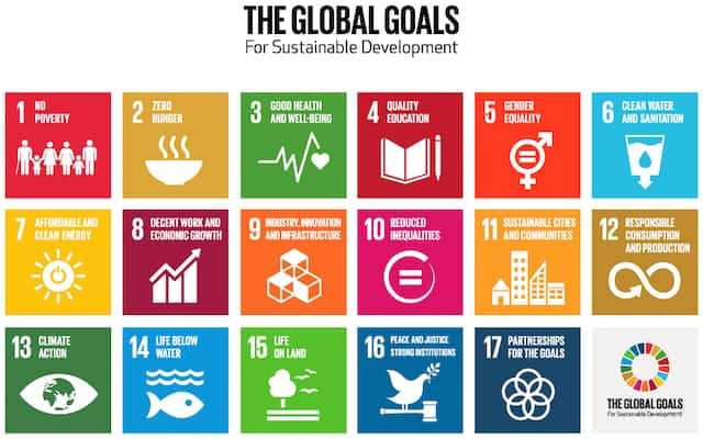The new UN sustainable development goals