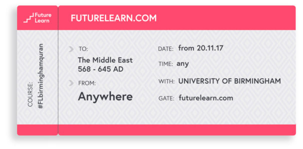 ticket illustration FutureLearn