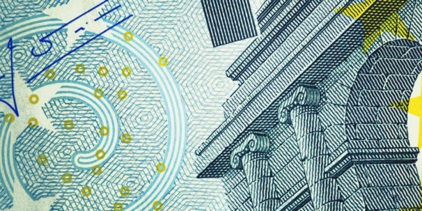 photograph close up of a banknote