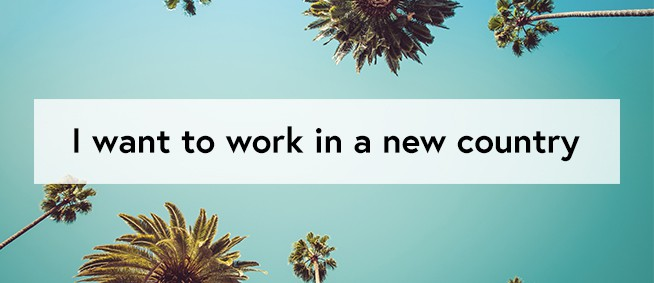 work in a new country