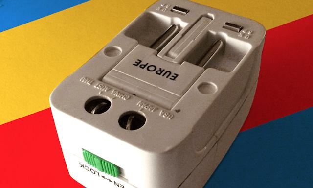 Multi-plug adaptor - Speak different languages