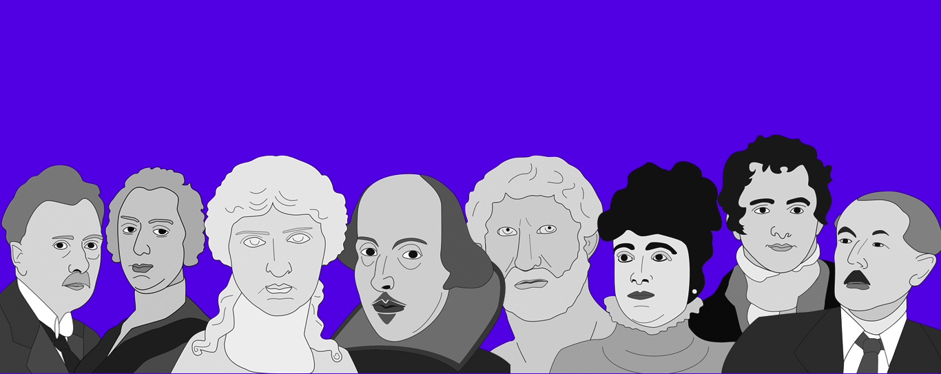 historical figures illustration