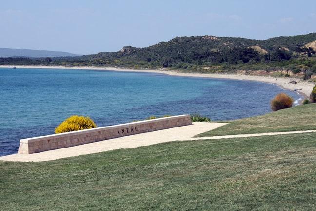 The Anzac memorial in Gallipoli, Turkey