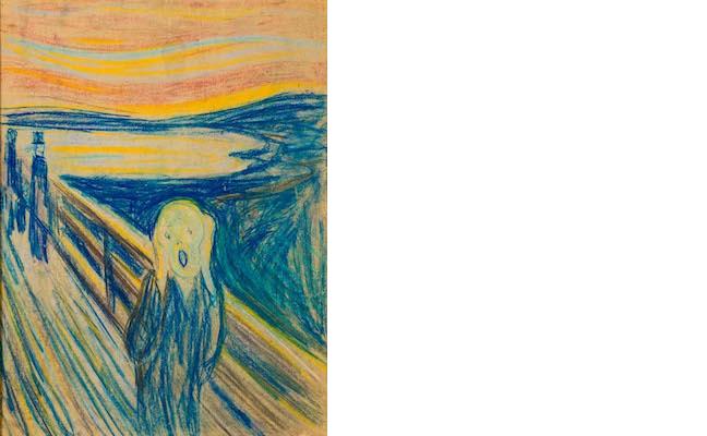 Sketch of the Scream