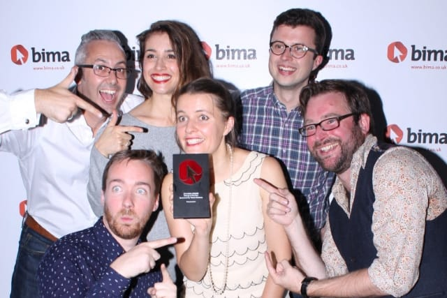 FutureLearn wins 'Startup of the Year' at the BIMAs.