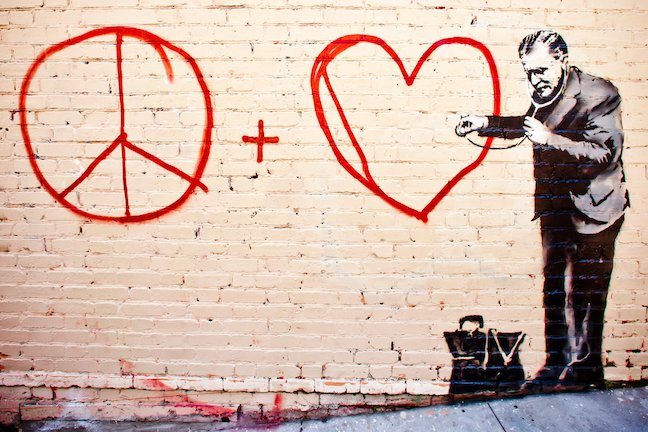 Banksy China Town