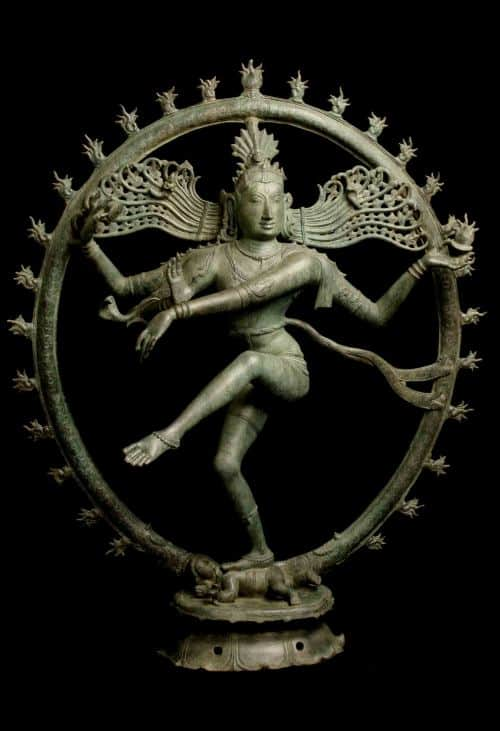 Yet another art crime example - the Dancing Shiva, a bronze model of a Hindu God. Photo from Chasing Aphrodite.