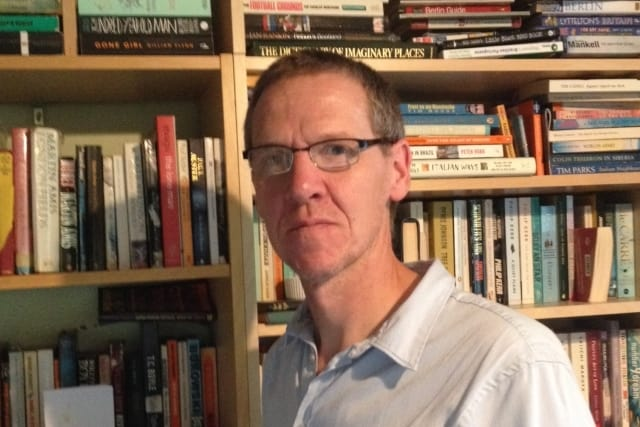 """Chris Cavey, lead educator on """"Exploring English: Language and Culture"""""""