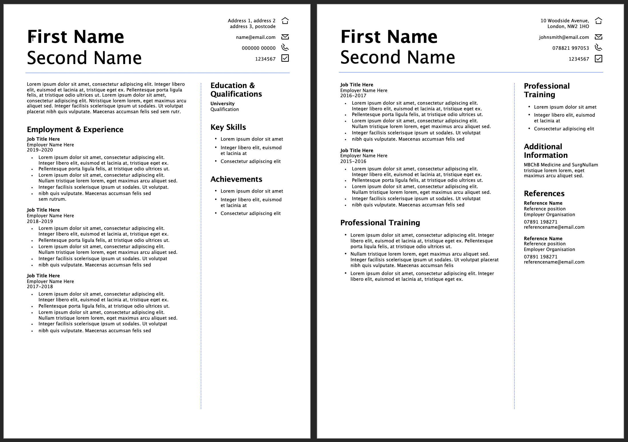 Free Cv Templates Learn How To Craft A Standout Cv Futurelearn