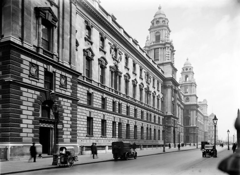 Photograph of the Ministry of Health in London, 1930