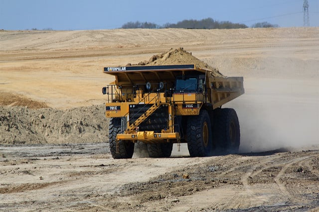 Heavy machinery manufacturers like Caterpillar are embracing digital transformation. Photo by Roy Luck on flickr.