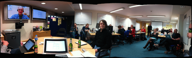 Our first ever sprint review