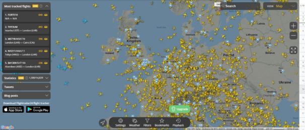 Flight data visualisation