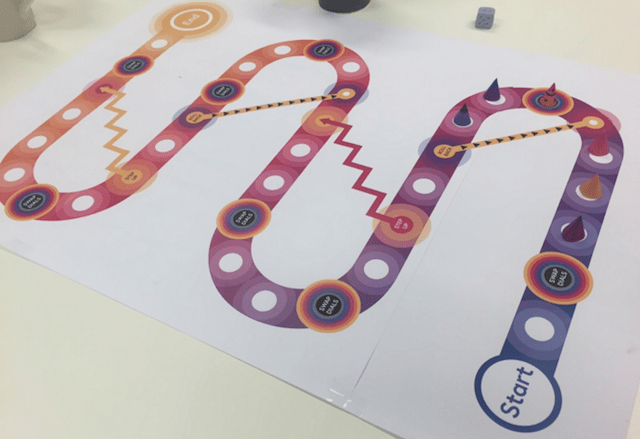FutureLearn Snakes and Ladders