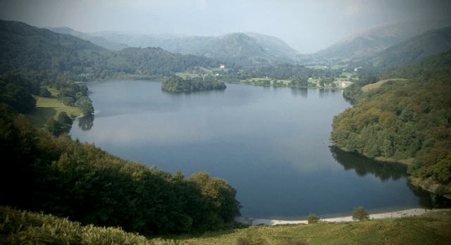 The lake at Grasmere - one of William Wordsworth's sources of inspiration