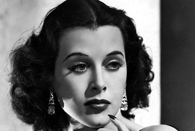 Hedy Lamarr, Hollywood actress and mobile communications pioneer,