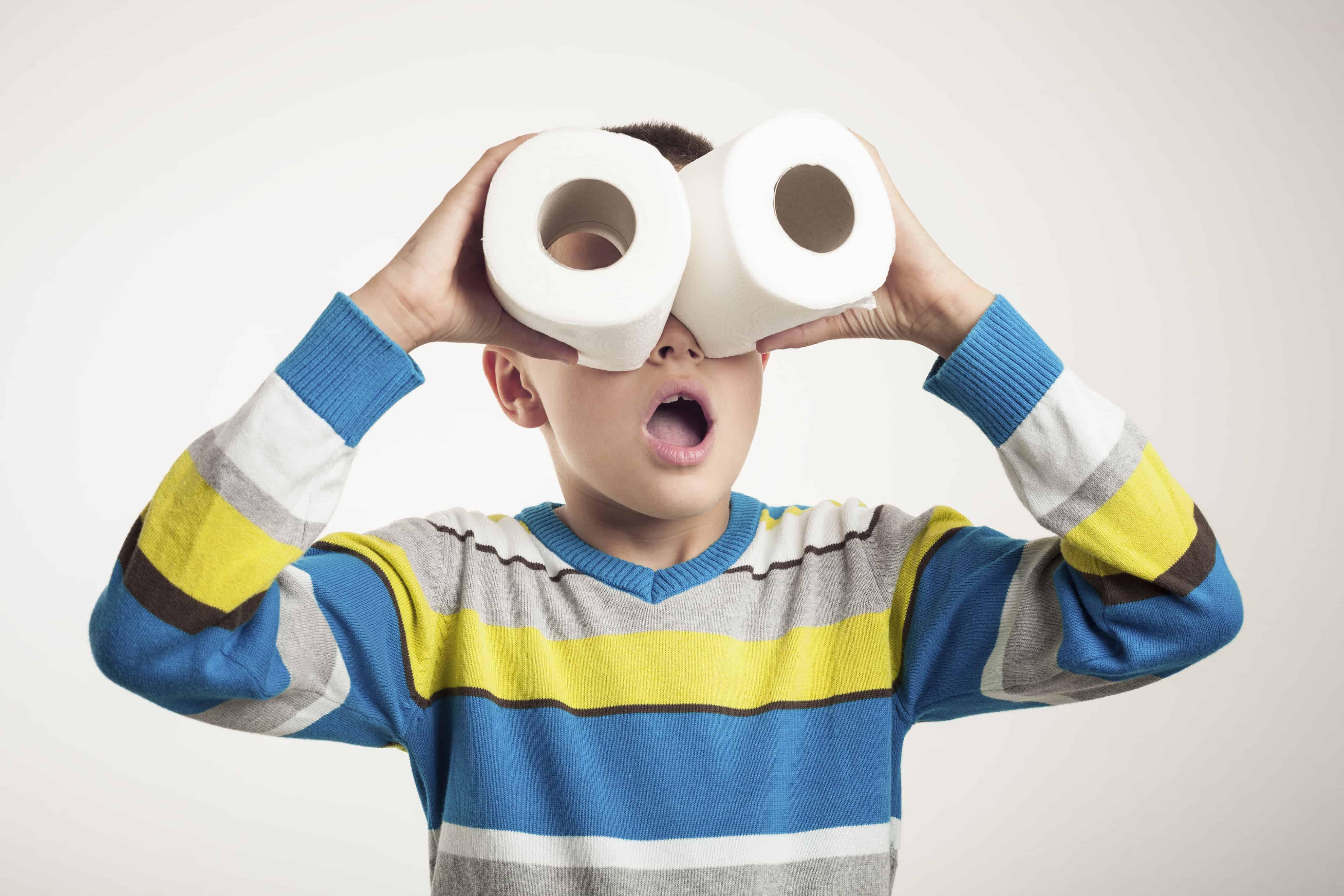 toilet roll binoculars