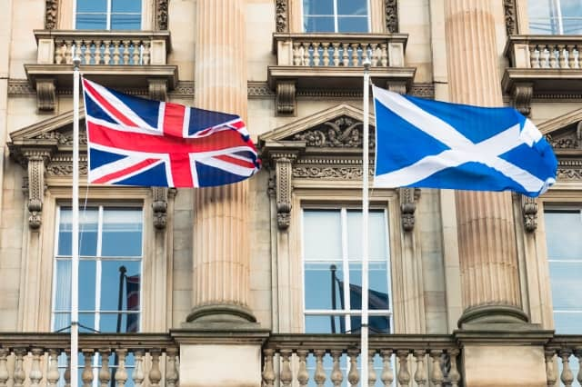 The Scottish referendum is still too close to call.