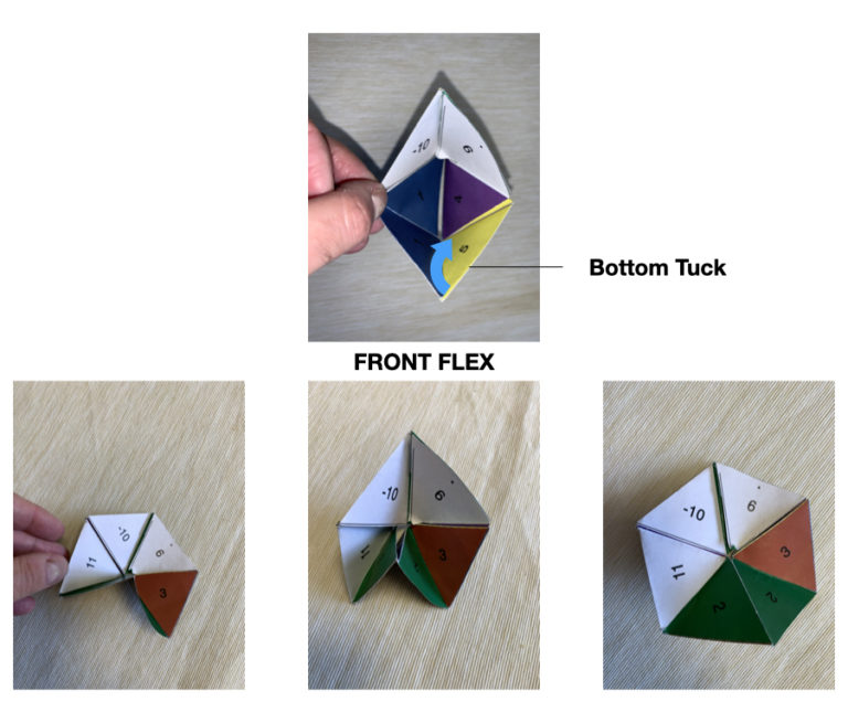 The slot tuck bottom front flex