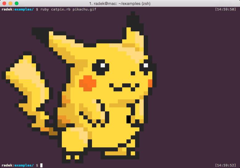 A wild Pikachu appears!