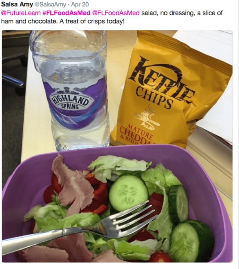 food as medicine salad