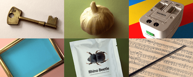 Six objects that describe the Creative Director's role