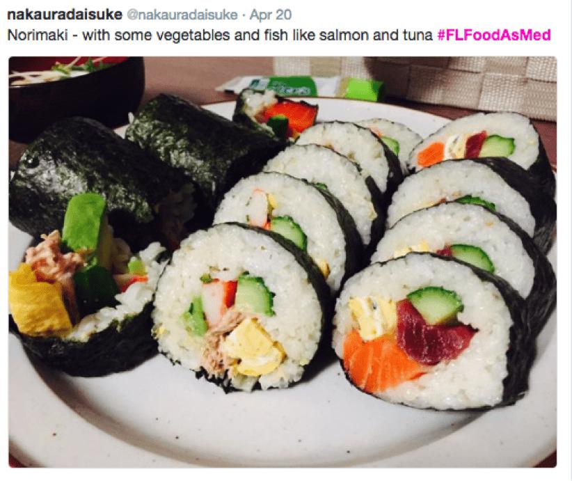 food as medicine sushi