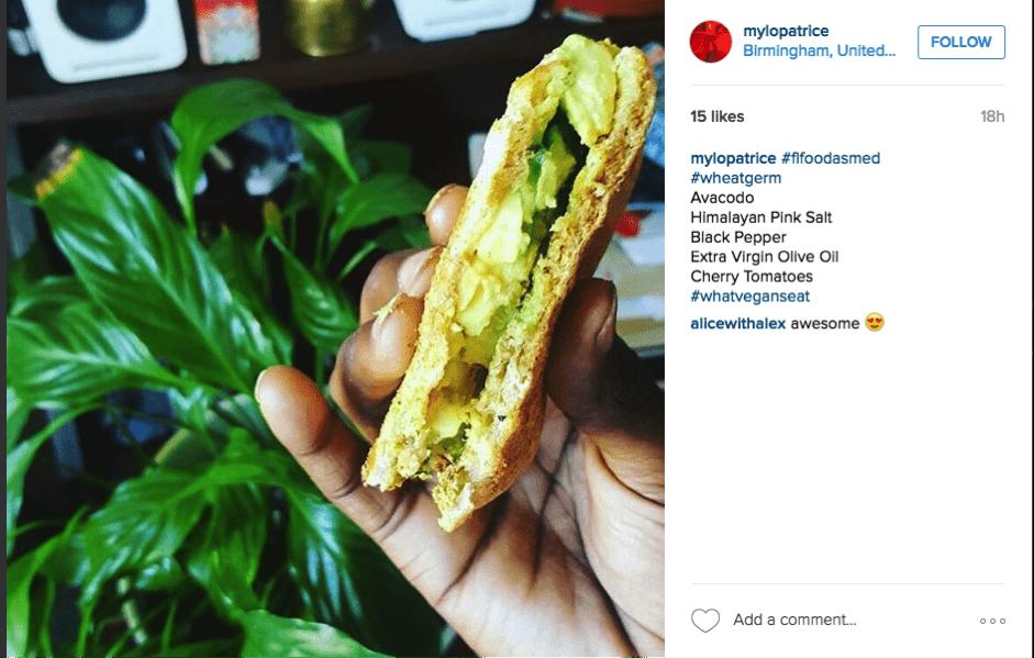 food as medicine wheatgerm sandwich